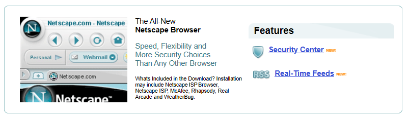 Netscape -Mac